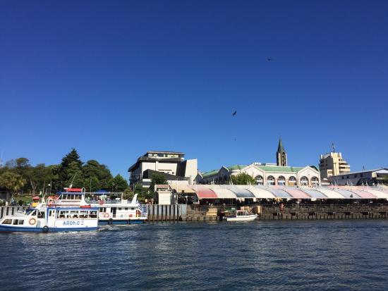 Mercado Fluvial de Valdivia: Muy ordenado, buen precio, todo fresco