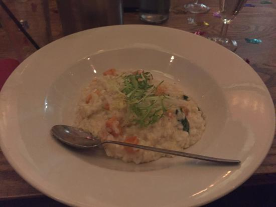 The Oyster Catcher: Lovely birthday meal