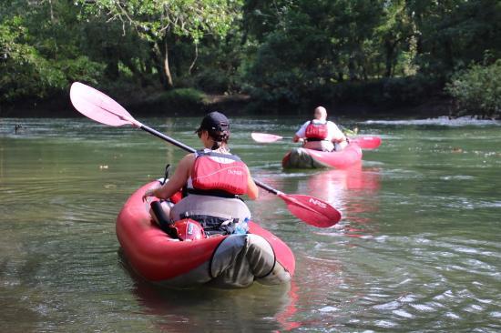 La Virgen, Costa Rica: Kayak
