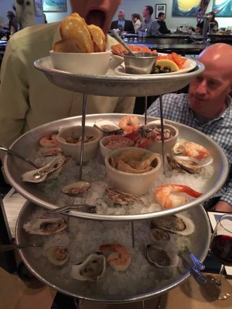 FRESH seafood that impressed