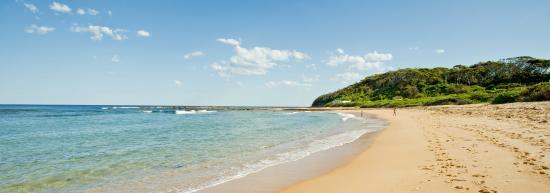 Bateau Bay, Australien: Beachfront location