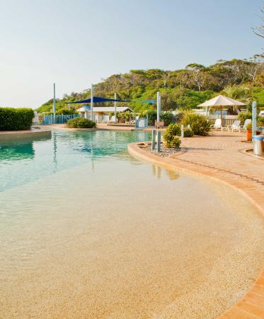 Bateau Bay, Australia: Pool area