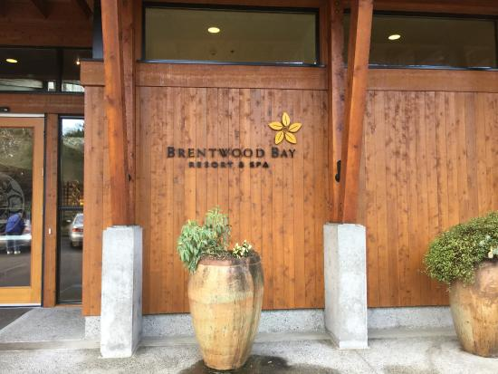 Brentwood Bay Resort & Spa: Welcome