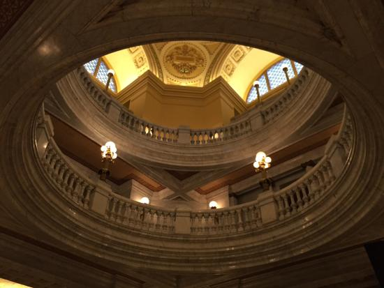 Inside dome - Picture of Westmoreland County Courthouse