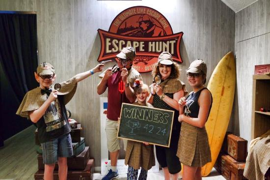 ‪The Escape Hunt Experience Gold Coast‬