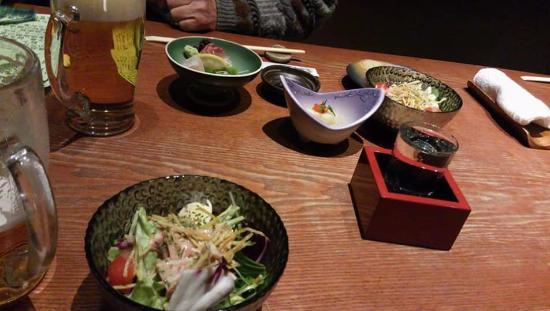 Daimyotsutsujian : 料理