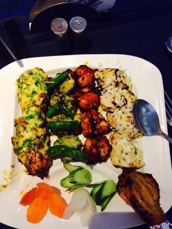 BEST WESTERN Ramachandra: Chicken kebab platter