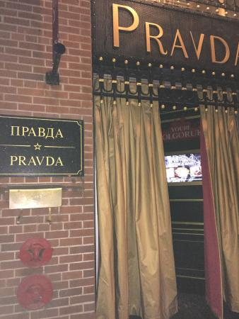 Pravda Vodka Bar