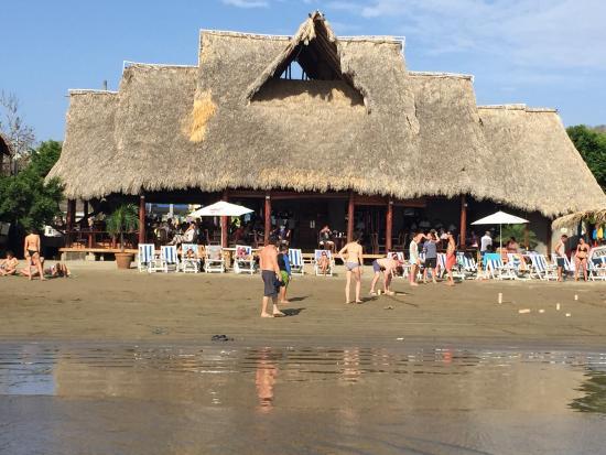 El Buen Gusto Restaurant: Food and view fr beach