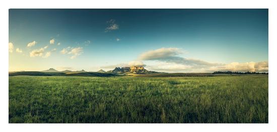 Van Reenen, Sudafrica: Oaklands Nelson's kop mountain