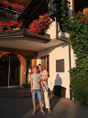 Hotel Schlehdorn: Ingang.