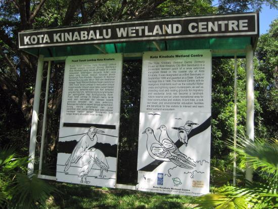Kota Kinabalu City Bird Sanctuary: wetland