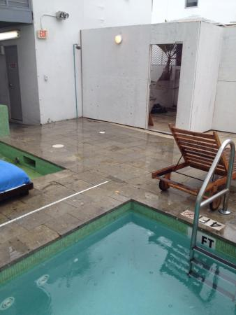 Clinton Hotel South Beach: Poor excuse for a 'pool area'