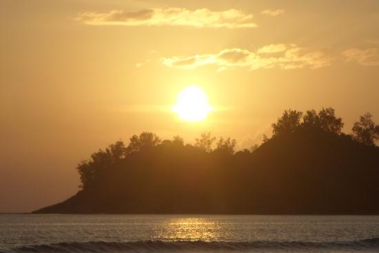 Anse La Mouche, Seychelles: Perfect sun set