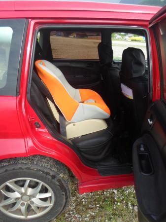 Anse La Mouche, Seychelles: Baby Car Seat
