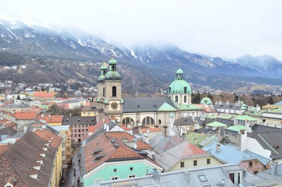 Stadtturm: Visitors/tourists have access to climb to the top- for a fee- for a panoramic view of the city.