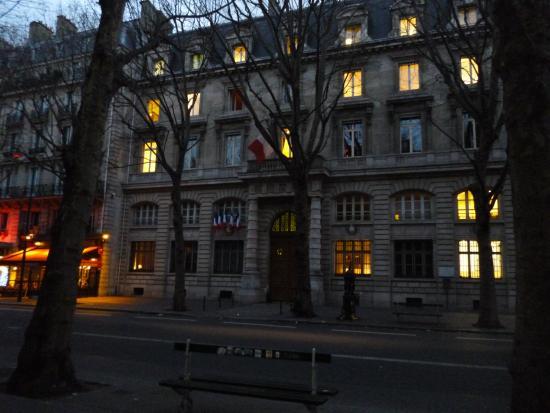 パリ警視庁です - パリ、シテ島...