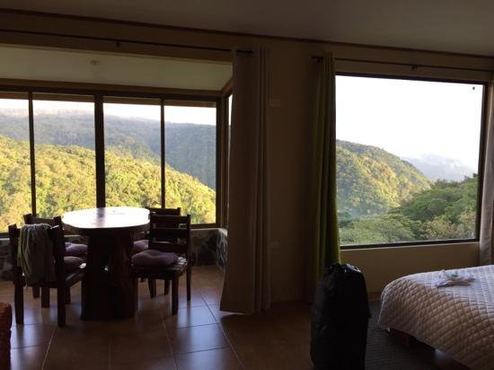 Rainbow Valley Lodge: Breathtaking view from the Chalet!