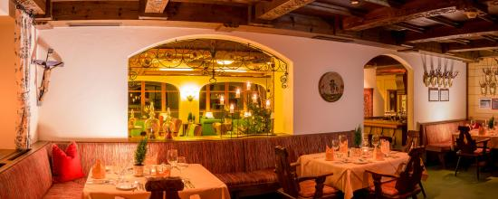 Hotel Kristberg: A la carte Restaurant Jagdstüble