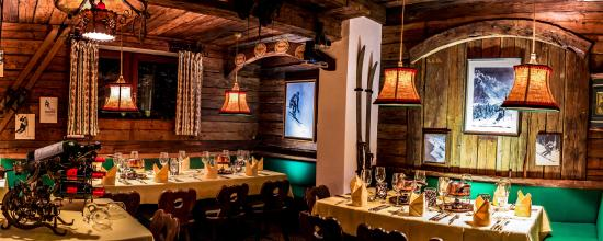 Hotel Kristberg: Fondue Stüberl Restaurant