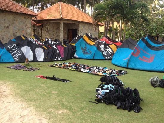 Flyboard Mui Ne Kiteboarding School: Gardent Kite Check