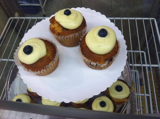 North East, Πενσυλβάνια: Bakery Lemon Blueberry