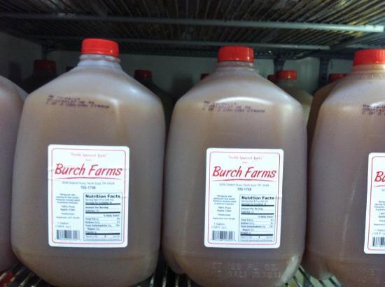 นอร์ทอีสต์, เพนซิลเวเนีย: Burch's Cider
