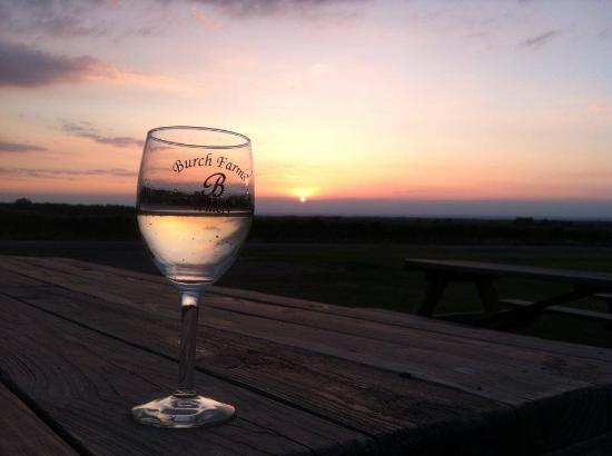 North East, Pensilvania: Wine and Sunsets