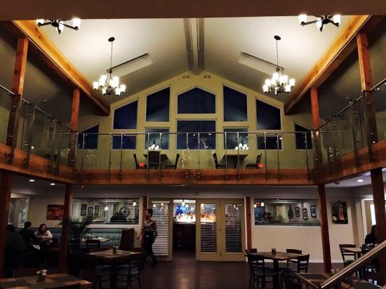 """Middlefield, CT: Powder Ridge and food from their new restaurant, """"Fire at the Ridge.""""  Amazing!"""
