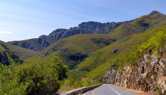 โอเวอร์เบิร์ก, แอฟริกาใต้: Near the top