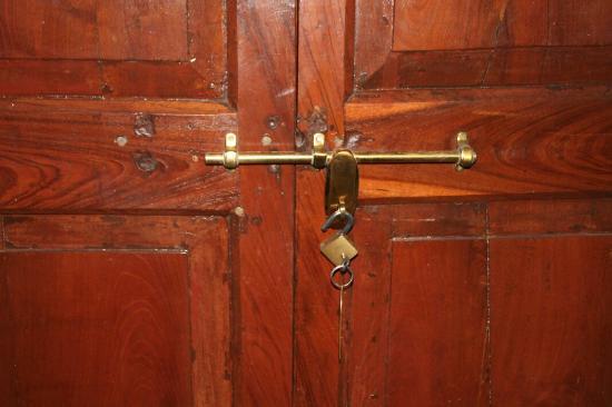 Ishwari Niwas Palace: la serrure d epoque