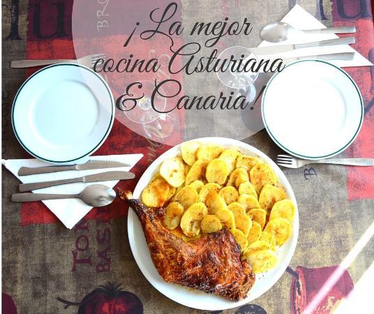 Arafo, España: Te esperamos con una sugerente carta de platos de la cocina Asturiana y Canaria.