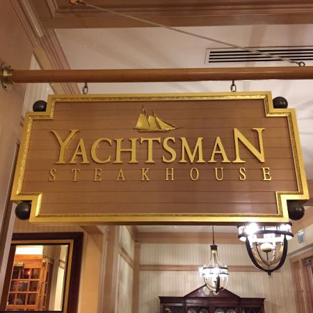 Picture of yachtsman steakhouse orlando for Table 6 north canton menu