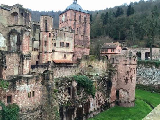 Der Europäische Hof Heidelberg: Schloss Heidelberg (vom SPA aus gut zu sehen!)
