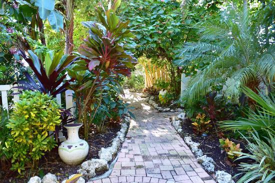 Walkway Around Pool and Suite - Picture of Sunrise Garden Resort ...