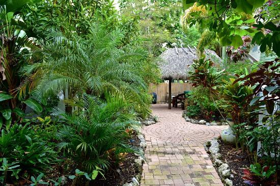 Walkway Around Pool and Suites - Picture of Sunrise Garden Resort ...