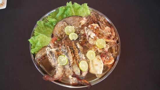 Sumal Villa: Тарелка морепродуктов