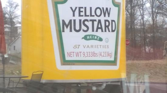‪‪Washington‬, ‪Missouri‬: That is alot of Mustard‬