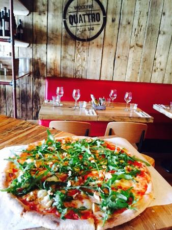 Stepaside, Ireland: Best wood fired pizzeria with amazing starters and homemade desserts!