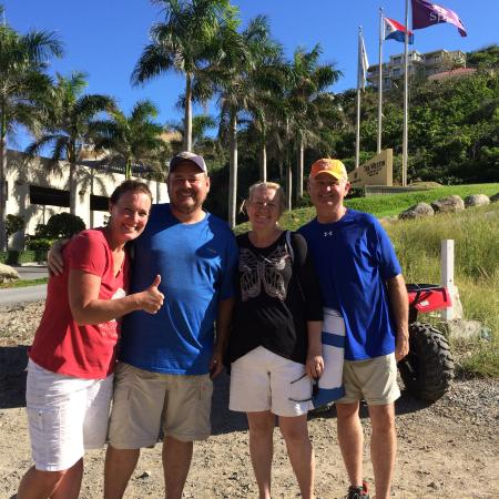 Oyster Pond, St. Maarten: Our island tour