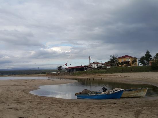 Igneada, Turchia: İğneada sahil - Longoza uzaktan bakış