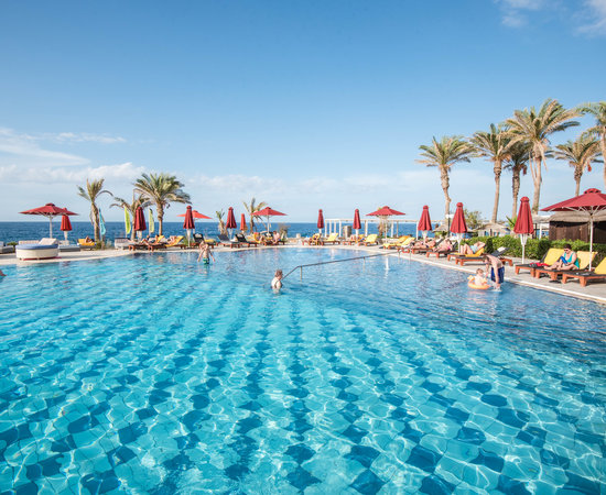 The Second Main Pool at the Radisson Blu Beach Resort