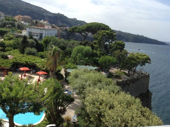 Grand Hotel Ambasciatori: View from honeymoon suite terrace