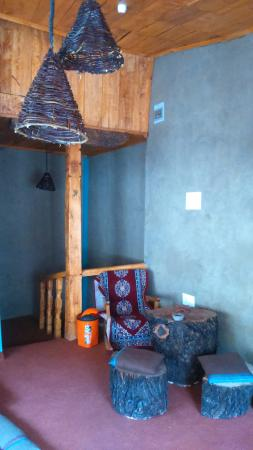 Roots Travel Cafe: Locally Crafted Lamspshades