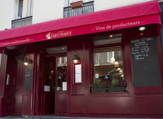 Bistrot Chez France, Paris - Gros-Caillou - Restaurant