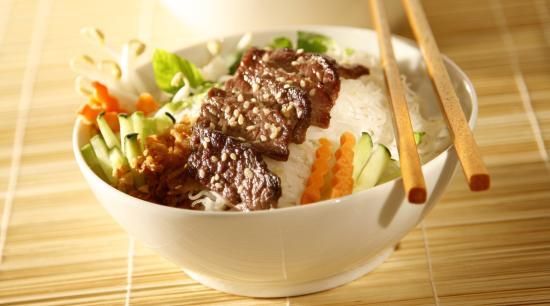 Woko: salade Bûn au boeuf