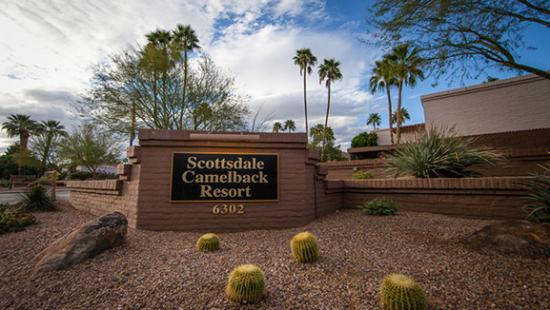 street sign picture of scottsdale camelback resort scottsdale rh tripadvisor com
