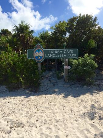 Exuma Cays Land and Sea Park: Well worth a visit!