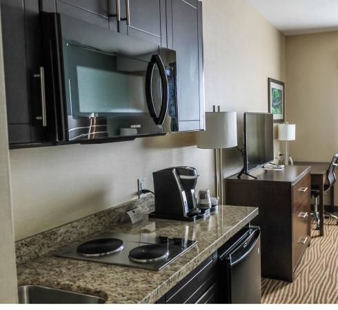 Moosomin, Καναδάς: Kitchenette units available to accommodate your long term stay.