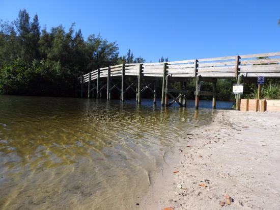 Round Island Beach Park Walkway To